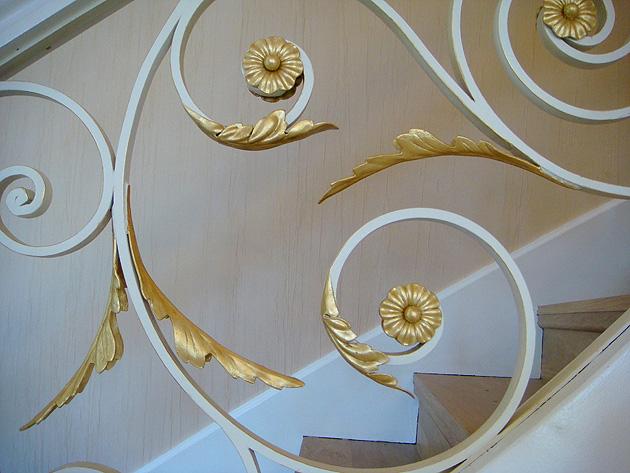 Faux Bois D Argent : . Dorure. Feuille d'or et feuille d'argent Cannes, Antibes, Grasse